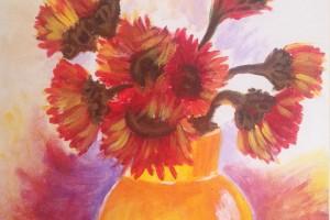37.Karen Woodbury - Sunflowers Copyright 2015(3)