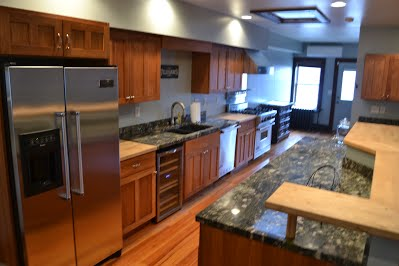 Winnebago Retreat kitchen